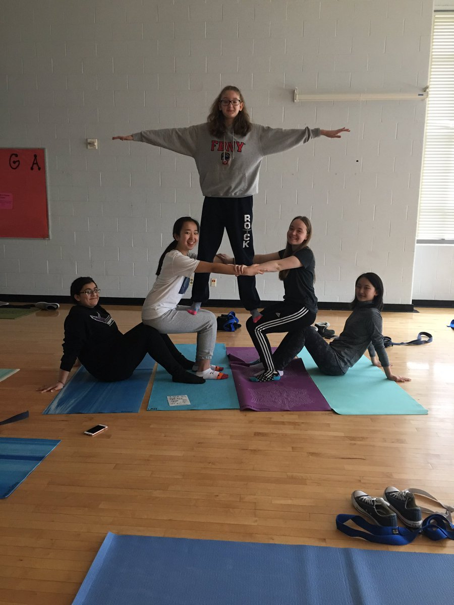 5 Person Group Yoga Poses Yoga Poses For Beginners