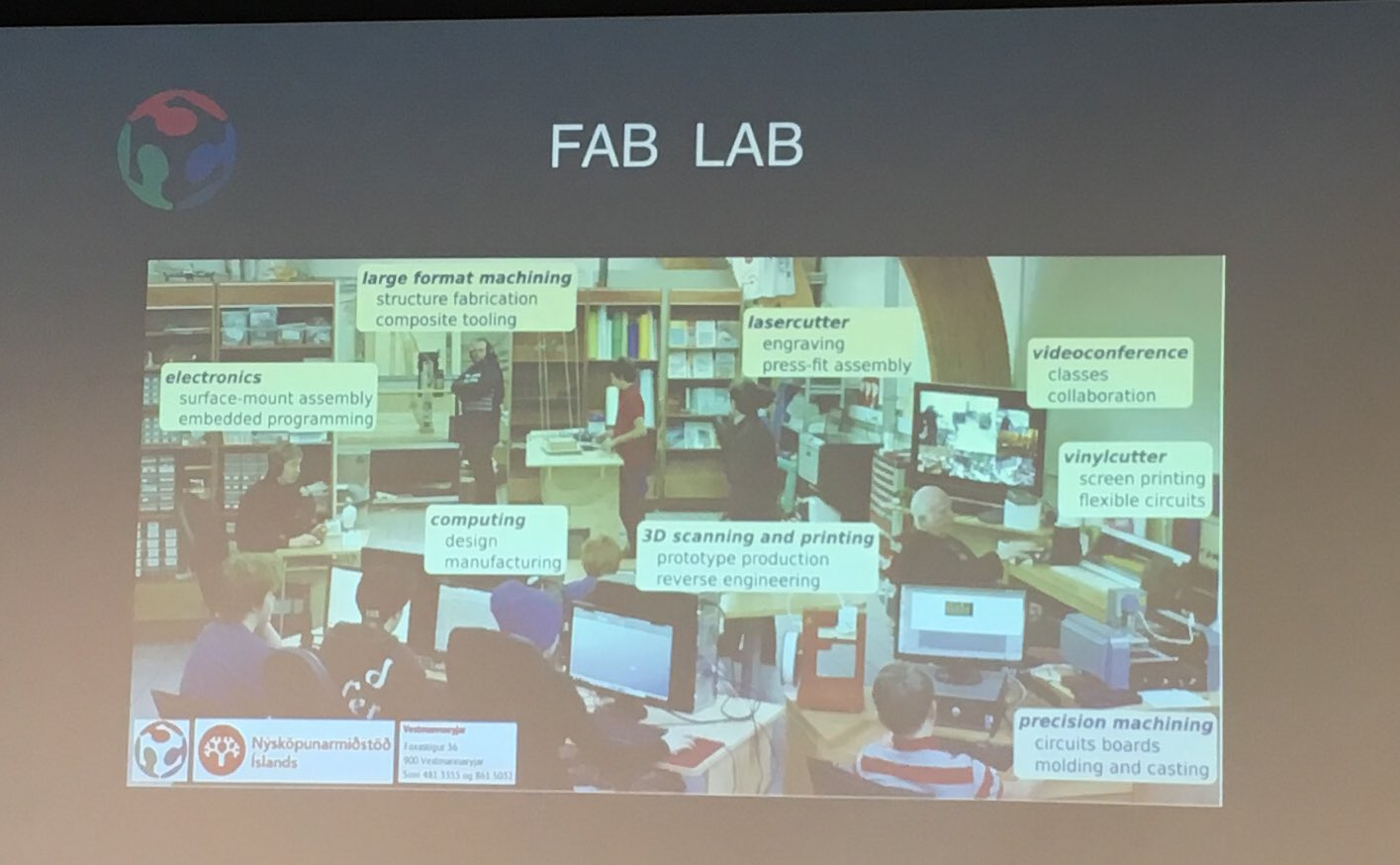 Social engineering is at the heart of makers and fablabs of the world. Inspiring keynote #DigiFabCon by Sherry Lassiter https://t.co/M6GNZO70Vn