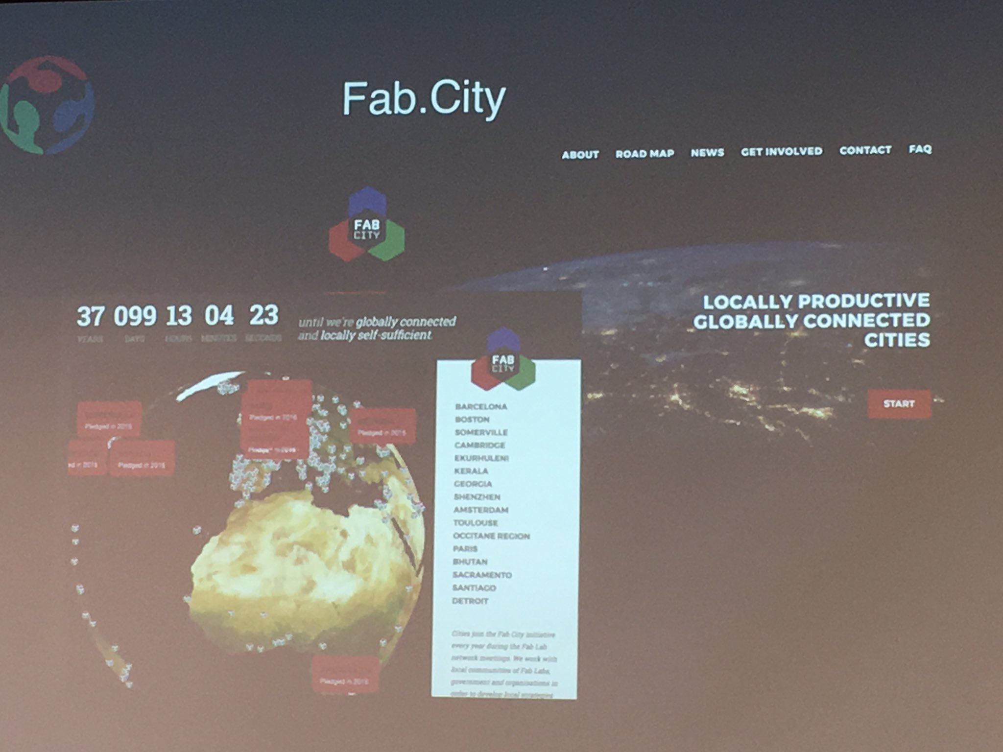 Fab City and the #Maker movement goes global and connects us all #DigiFabCon https://t.co/gfFDUksAeM