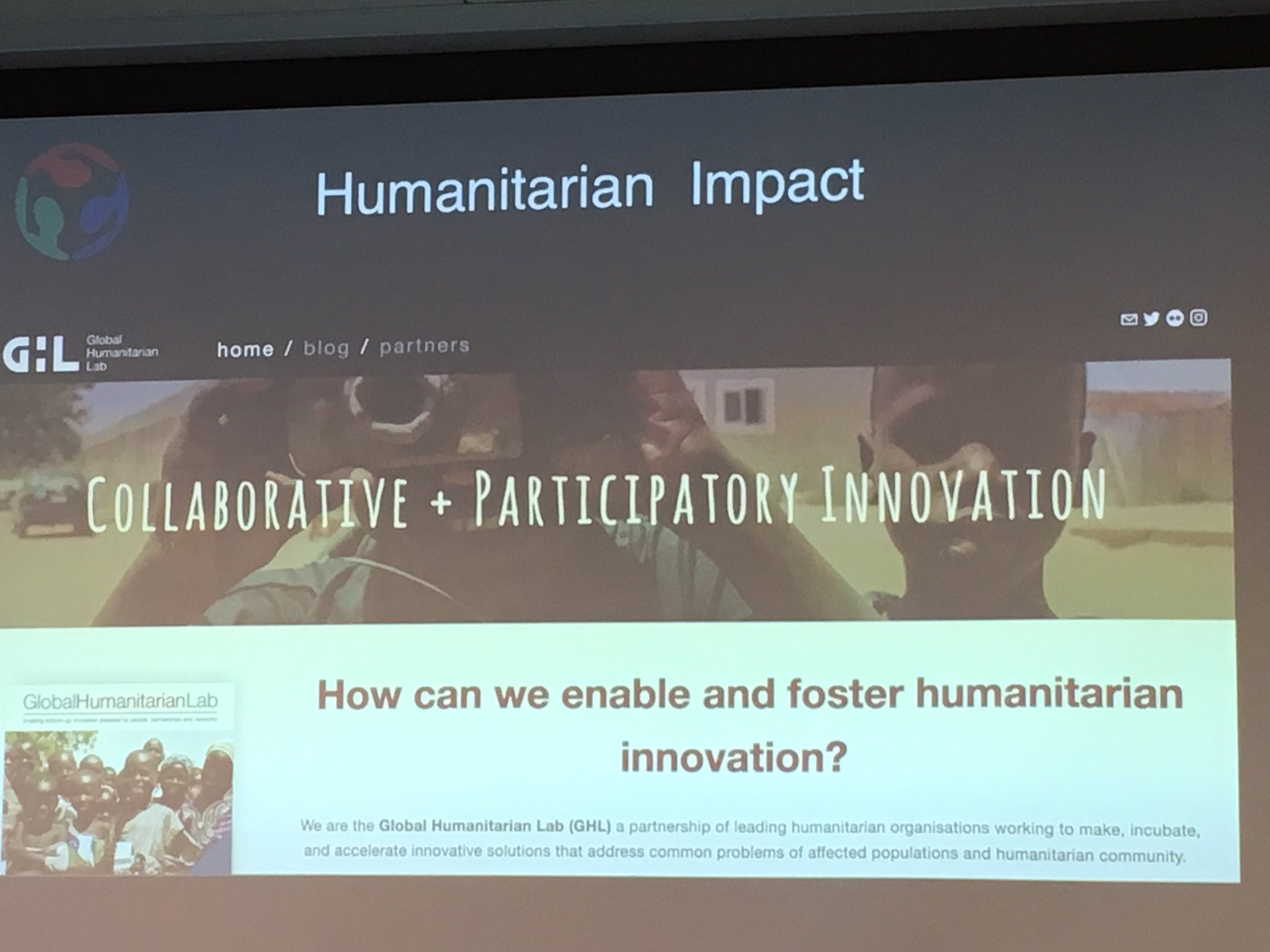 Humanitarian impact -- how can fab lab and maker movements create and sustain positive change? #DigiFabCon big ideas https://t.co/Vrs7nlwl1p