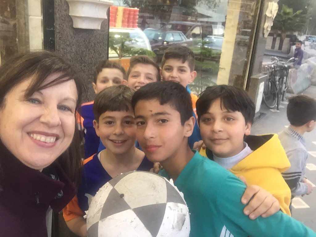 #Homs boys ask for a photo - if only all #ChildrenofSyria could play i...