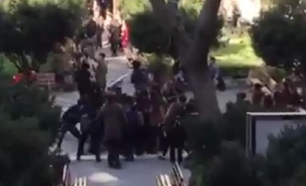 İstanbul Üniversitesi'nde #Kızıldere anmasına müdahale: 33 gözaltı htt...