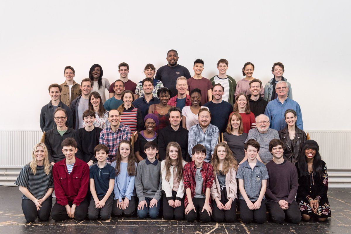 Rehearsals began this week for new cast members joining @HPPlayLDN fro...