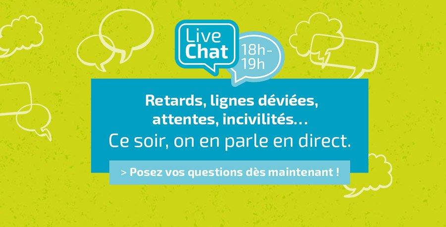 Rendez-vous ce soir dès 18h sur tan.fr ou l&#39;application Tan pour participer à notre premier Livechat ! #Nantes  http:// bit.ly/2nj6GZC  &nbsp;  <br>http://pic.twitter.com/bMHuShYkrX