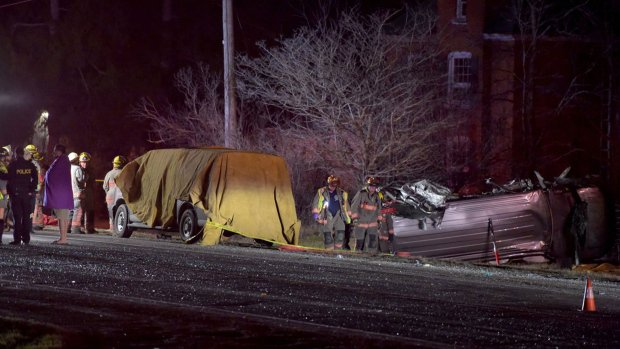 Two girls, 21-year-old man killed following crash in Caledonia  https:...