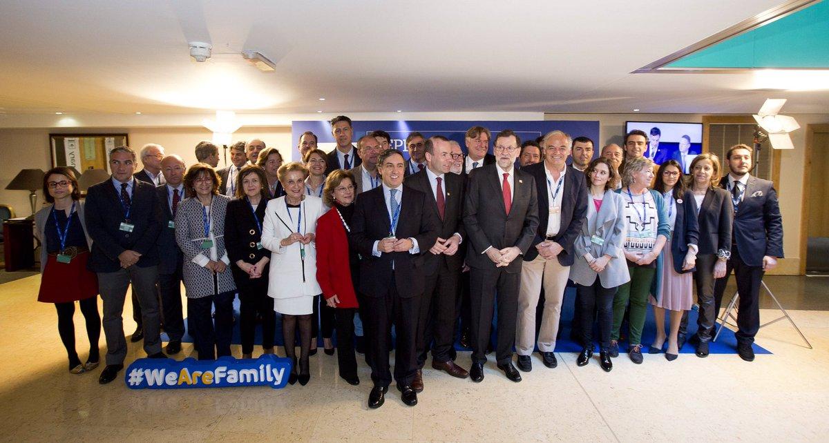 Delegación española en el Congreso del @EPP #EPPMalta. Defendemos con...