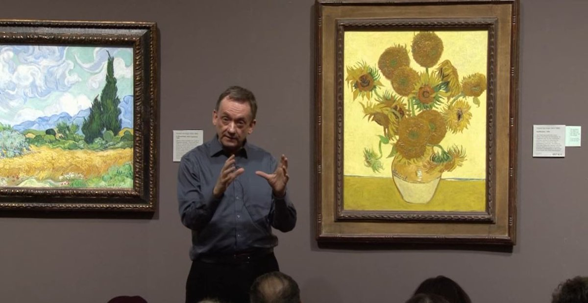 Explore the life and works of Vincent van Gogh by watching our lunchti...