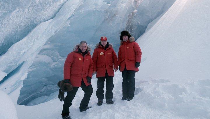 Хлама больше нет: президент и премьер увидели Арктику во всей красе