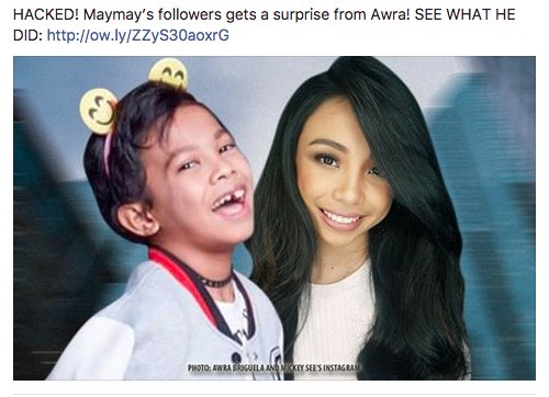 Maymay's followers gets a surprise from Awra!  Link: https://t.co/ZfeH...