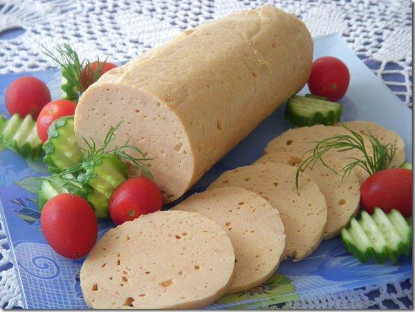 Домашняя колбаса из свинины и курицы в кишках рецепт с фото