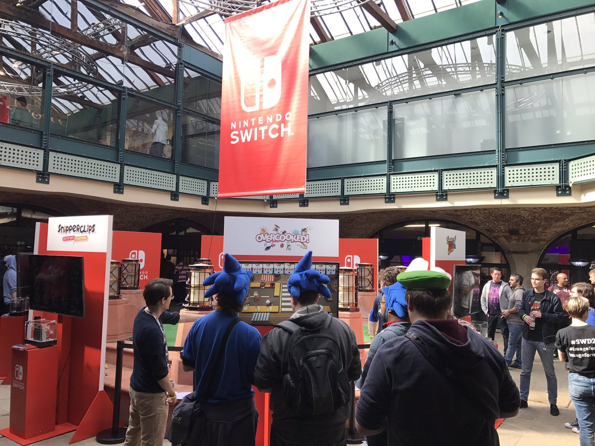 We're at #EGXRezzed with a host of Nindie games to try on #NintendoSwi...