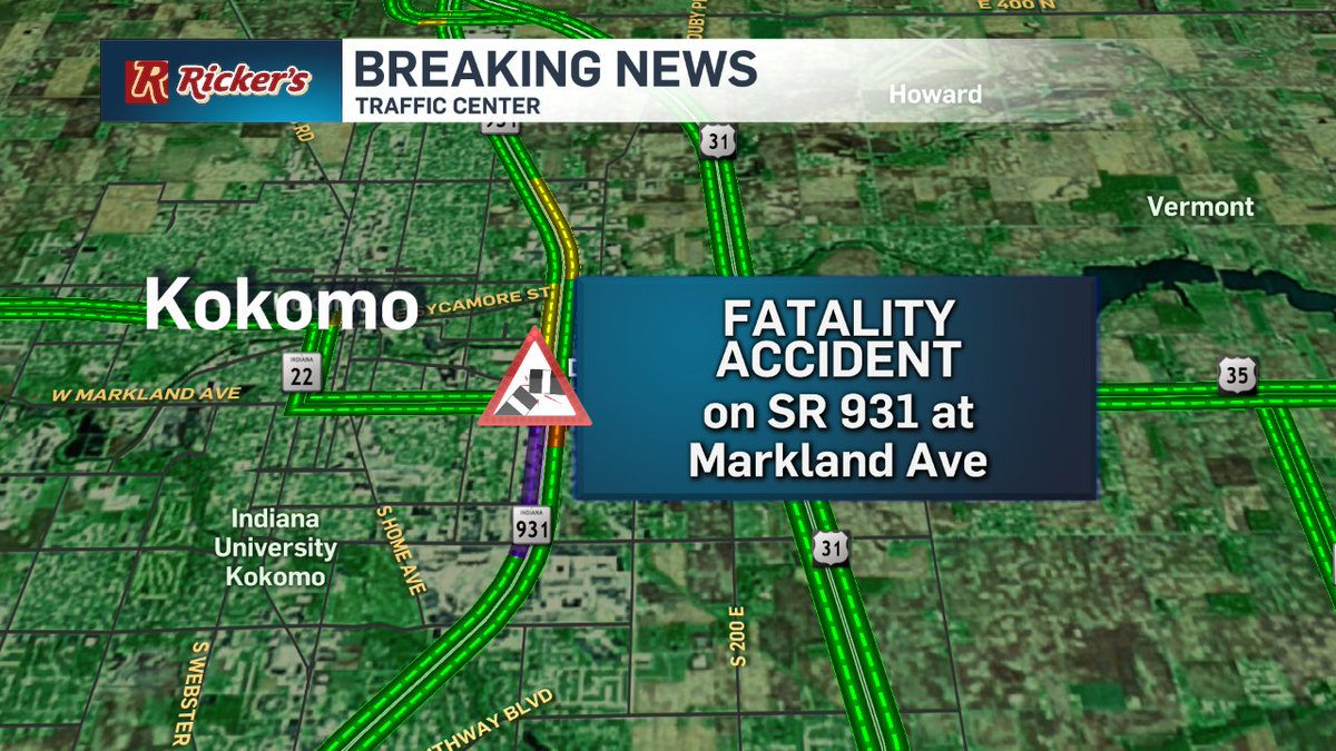 #BREAKING NEWS: Person struck and killed on SR 931 at Markland Ave in...