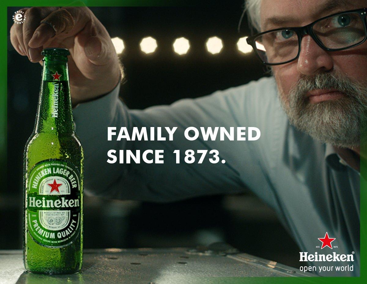 Consistency always leads to excellence. Ada resep keluarga di setiap Heineken yg dipertahankan selama lbh dari 143 tahun. #MoreBehindTheStar https://t.co/4pZxgY2vW2
