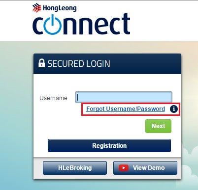 Hong Leong Bank On Twitter Hi Ugmalek Visit Connect Website At Https T Co E5baoqlnvr Select Forgot Username Password On Secured Login Screen To Reset Https T Co Ygryxr9lyc