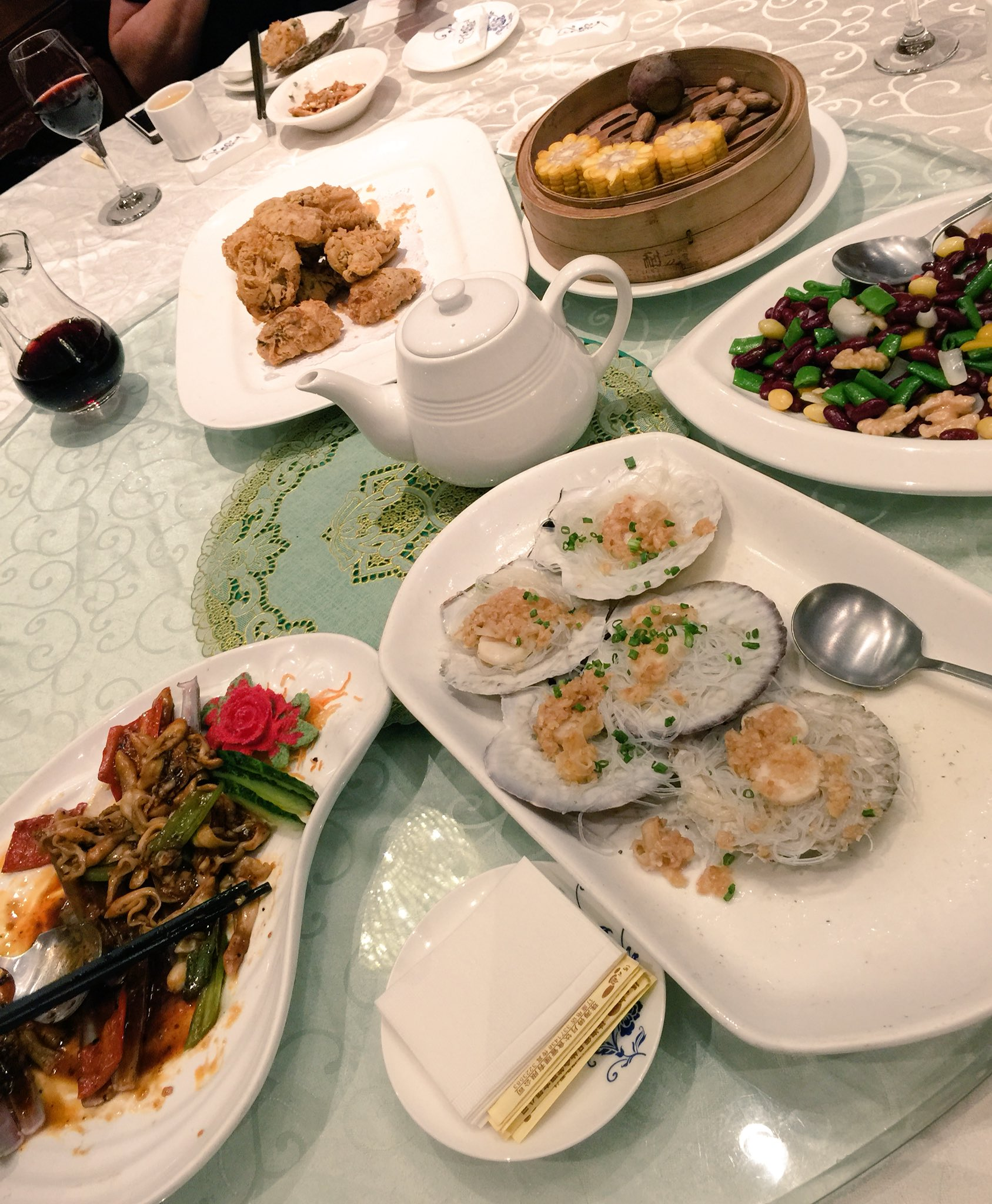 Finishing our #cahht17 with a seafood dinner at De Yue Restaurant on Yeli Island in Zhuhai. https://t.co/Z5teYh5OLr