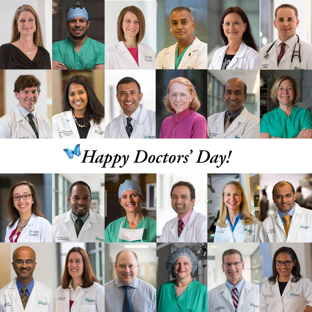 Nationwide Childrens Hospital A Twitter Happy Doctors Day To All Of The Amazing Physicians Who Care For Our Patients DoctorsDay