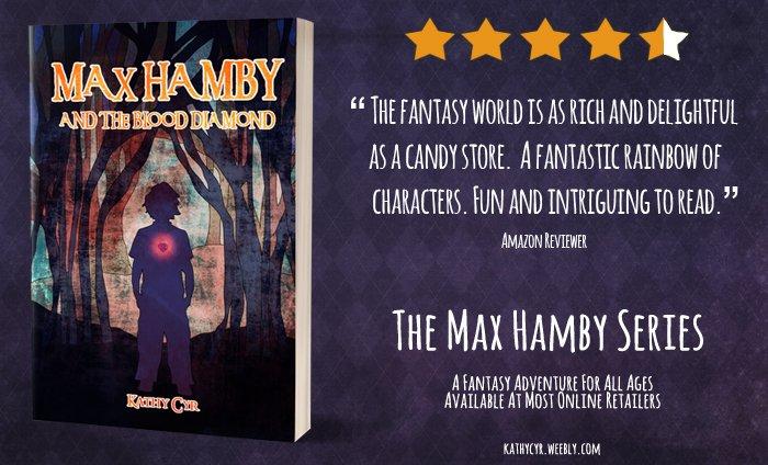 Max Hamby.  https://www. amazon.com/Kathy-Cyr/e/B0 0NR8SP90 &nbsp; …   #RT #kindle #Amazon #books #ebooks #ipad #blog #read #fantasy #action #adventure #magic #series #free<br>http://pic.twitter.com/S9dFX4Z9Br