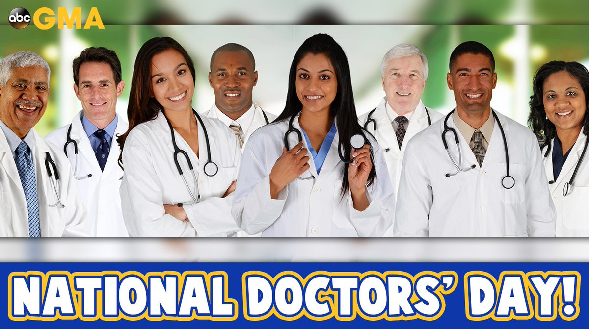 Happy #NationalDoctorsDay!   To doctors around the world, we thank you...