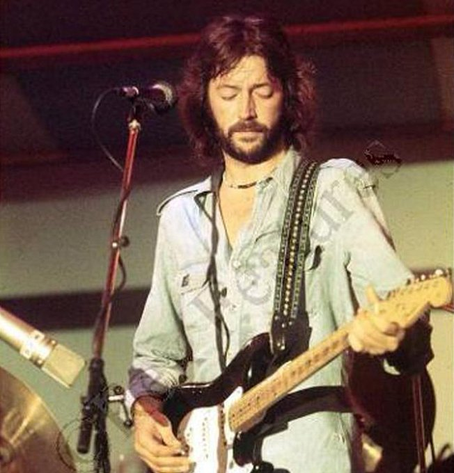 Happy birthday to guitar legend Eric Clapton, 72 today.
