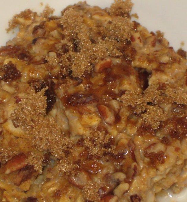 Pumpkin-Apple Oatmeal