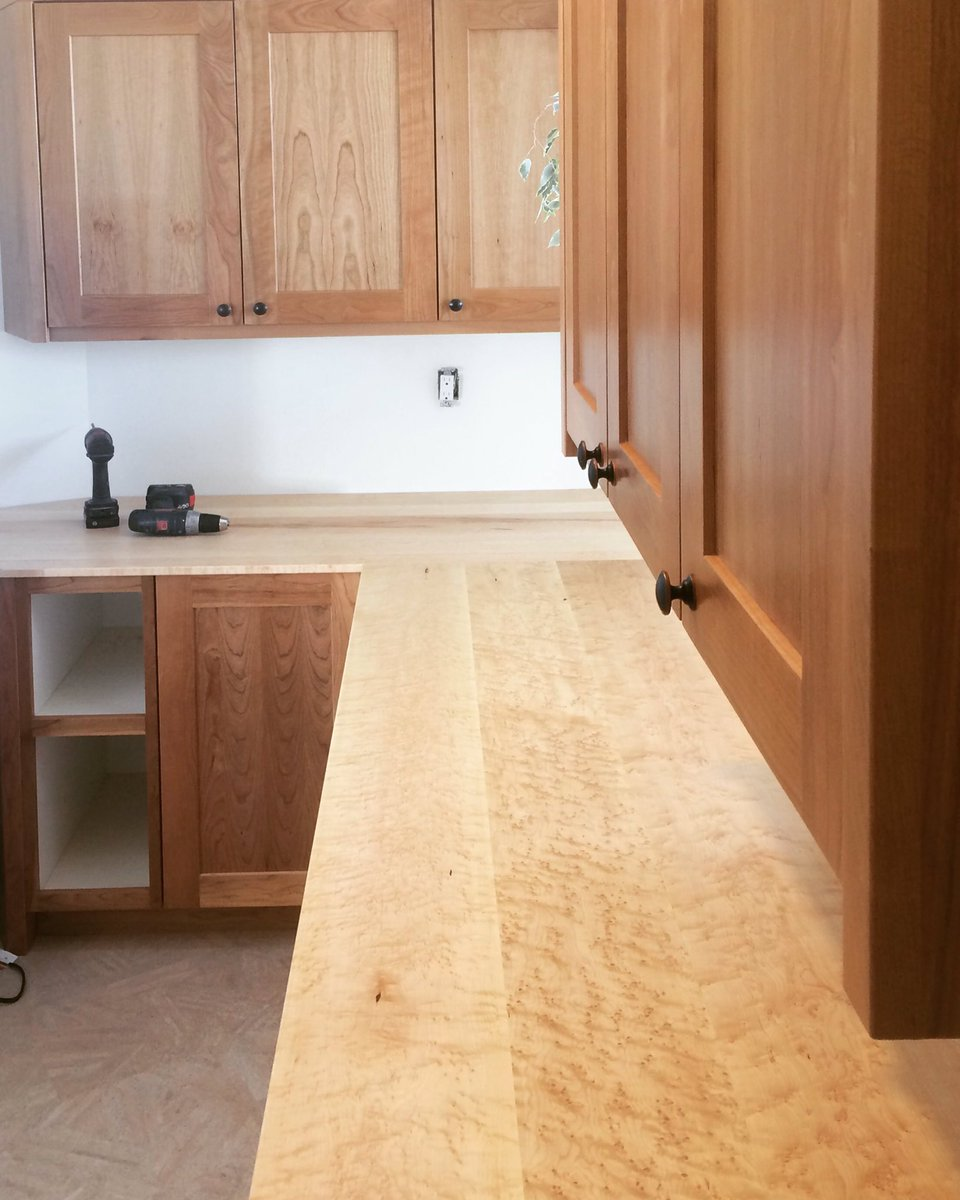 Finishing Touches On Pantry Off Kitchen