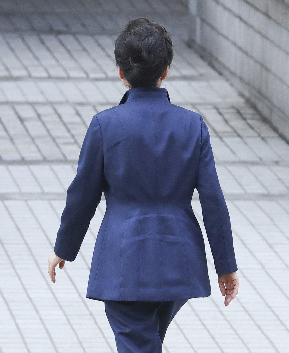 <속보> 박근혜 전 대통령 구속