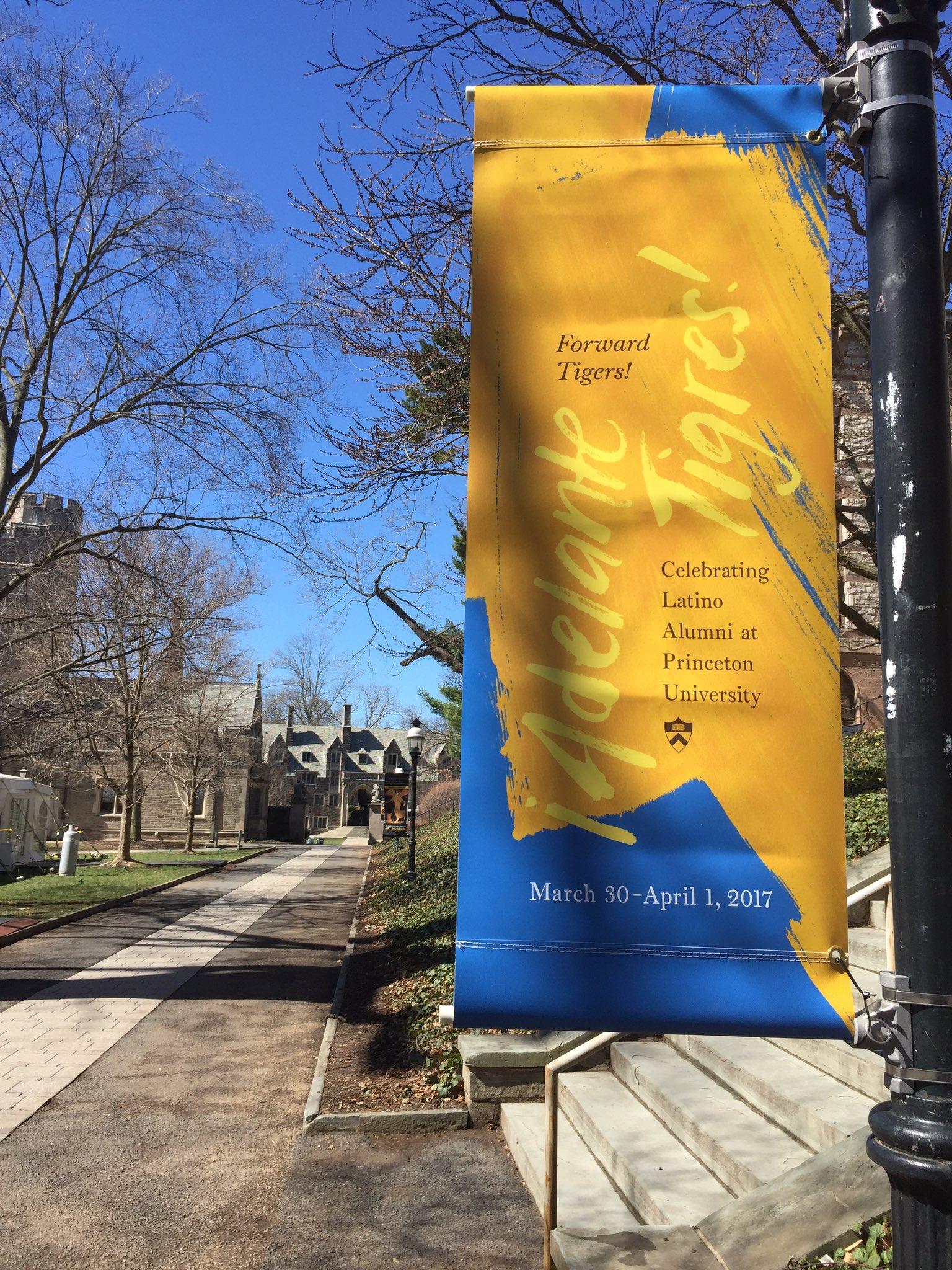 Today begins #Princeton's 1st #Latino/ #Latina/ #Latinx #alumni conference! #AdelantePrinceton @princeton @PrincetonAlumni #PrincetonAlumni https://t.co/1MqCcA2KMi