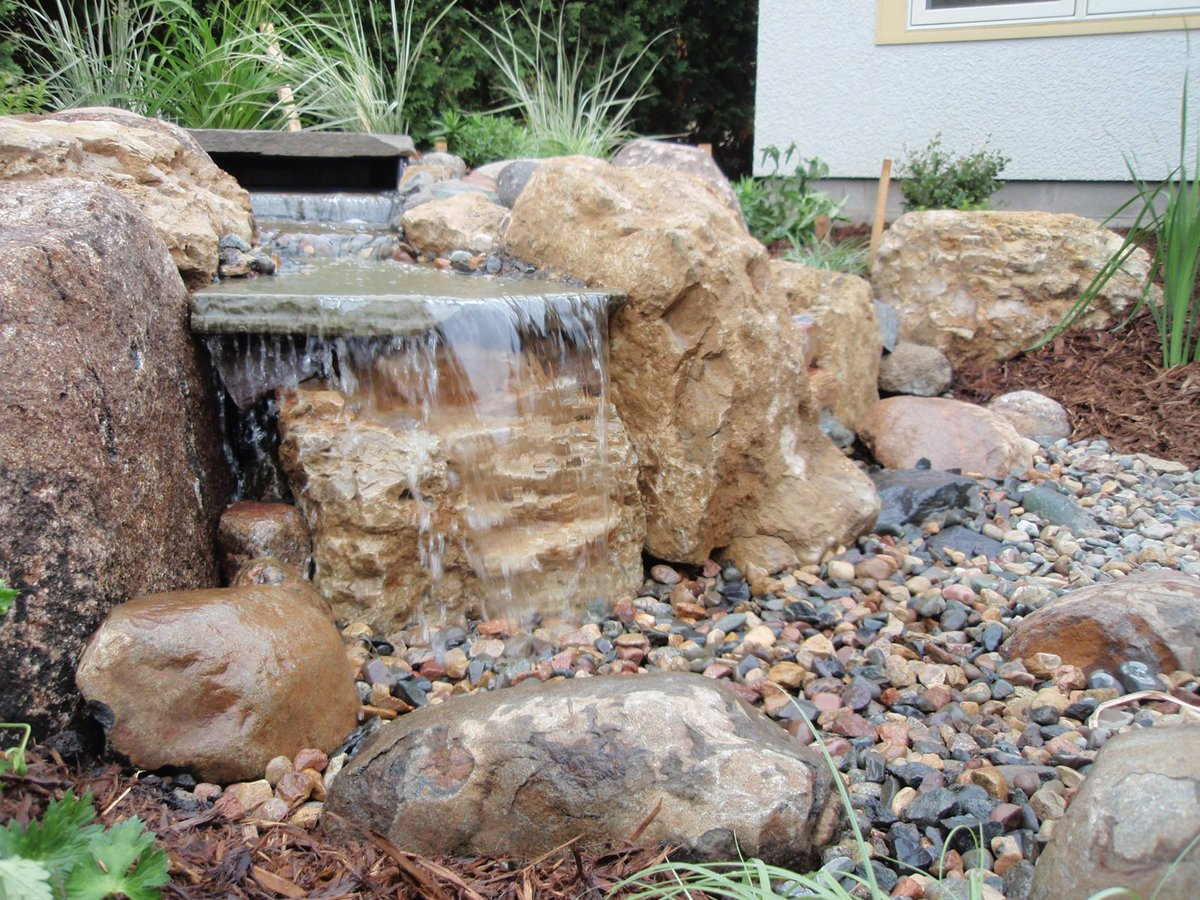 Nice Have You Started To Plan For Your One Of A Kind Pondless #waterfall?