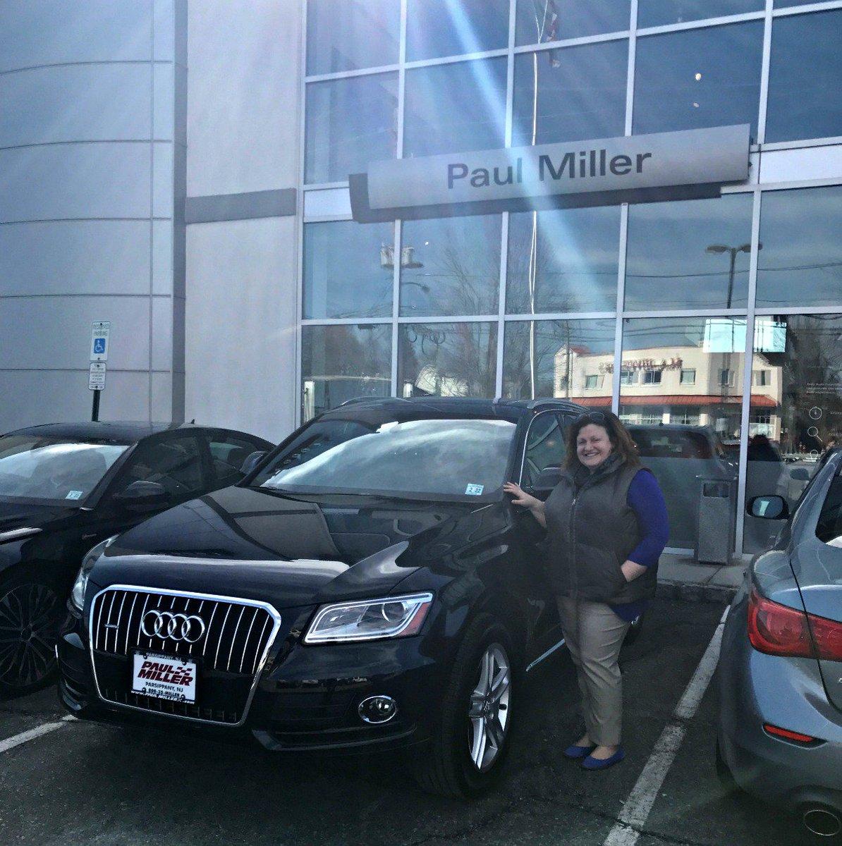 Paul Miller Audi On Twitter Theresa S From Lake Hopatcong - Paul miller audi