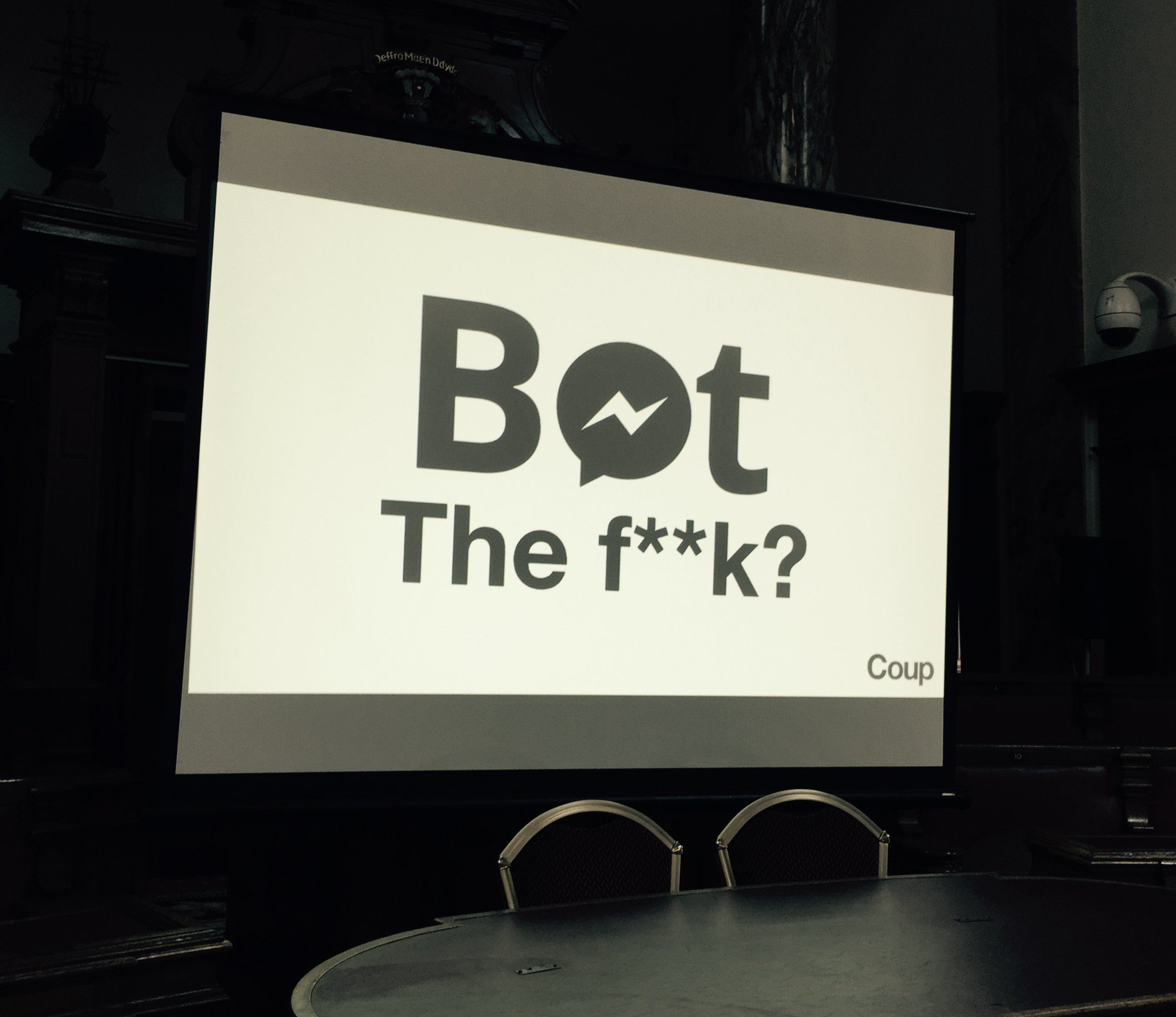 Bots do lots!  Founder of We Build Bots 📲💻🤖@coupmedia_paul is live from 3pm in the Masterclass: https://t.co/UGh9fU0te5  #oiconf #darksocial https://t.co/GNeeOTcSOh