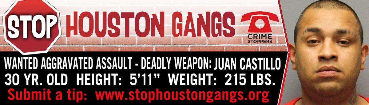 #SeBusca Juan Castillo. Hasta $5,000 en recompensa @CrimeStopHOU @StopGangs @HoustonPolice @HCSOTexas #HouNews<br>http://pic.twitter.com/cw7fZAWPw5