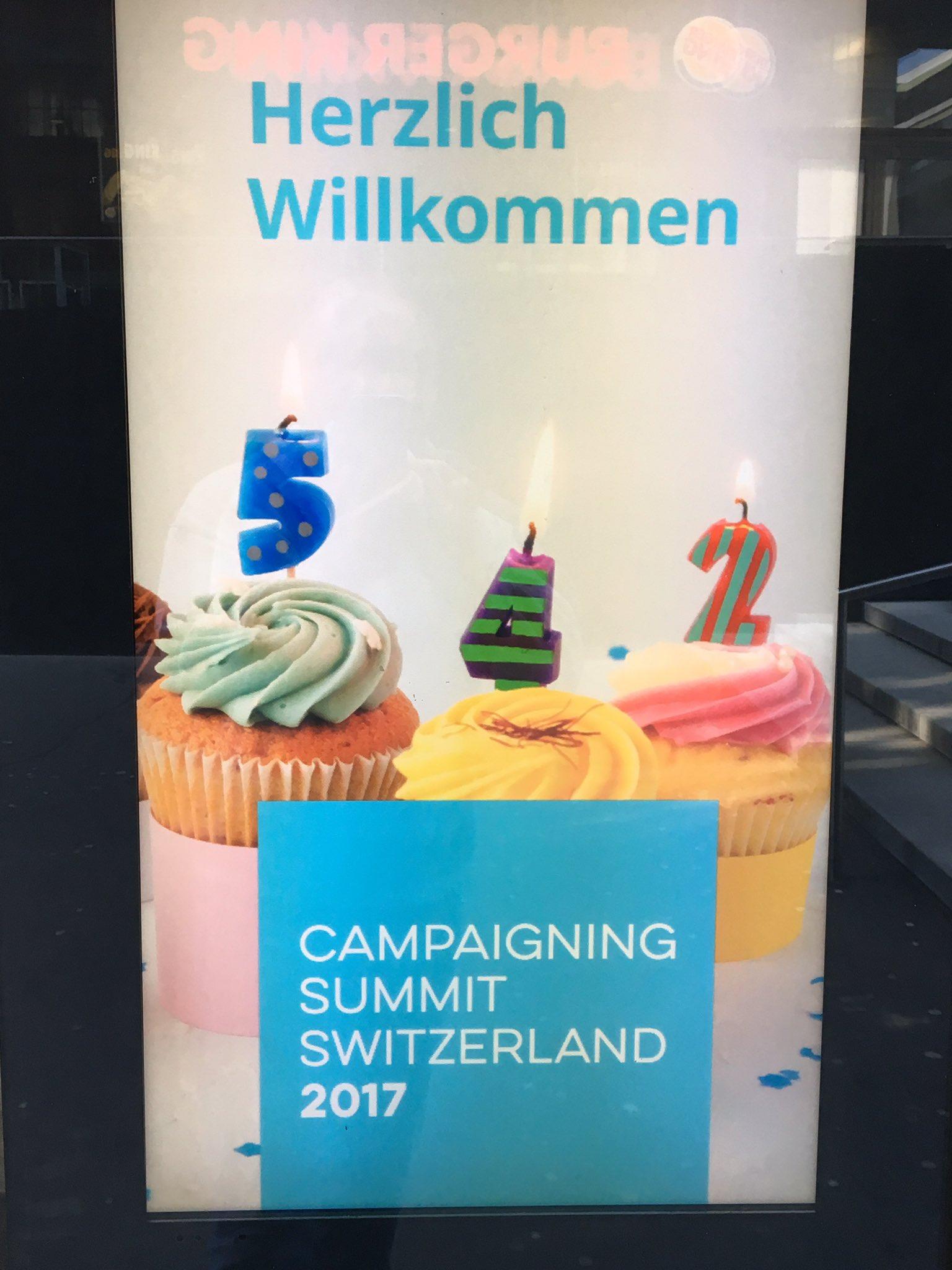 Good to be in #Zurich - #CSCH17 kicks off tomorrow https://t.co/rW4vcyzDvL