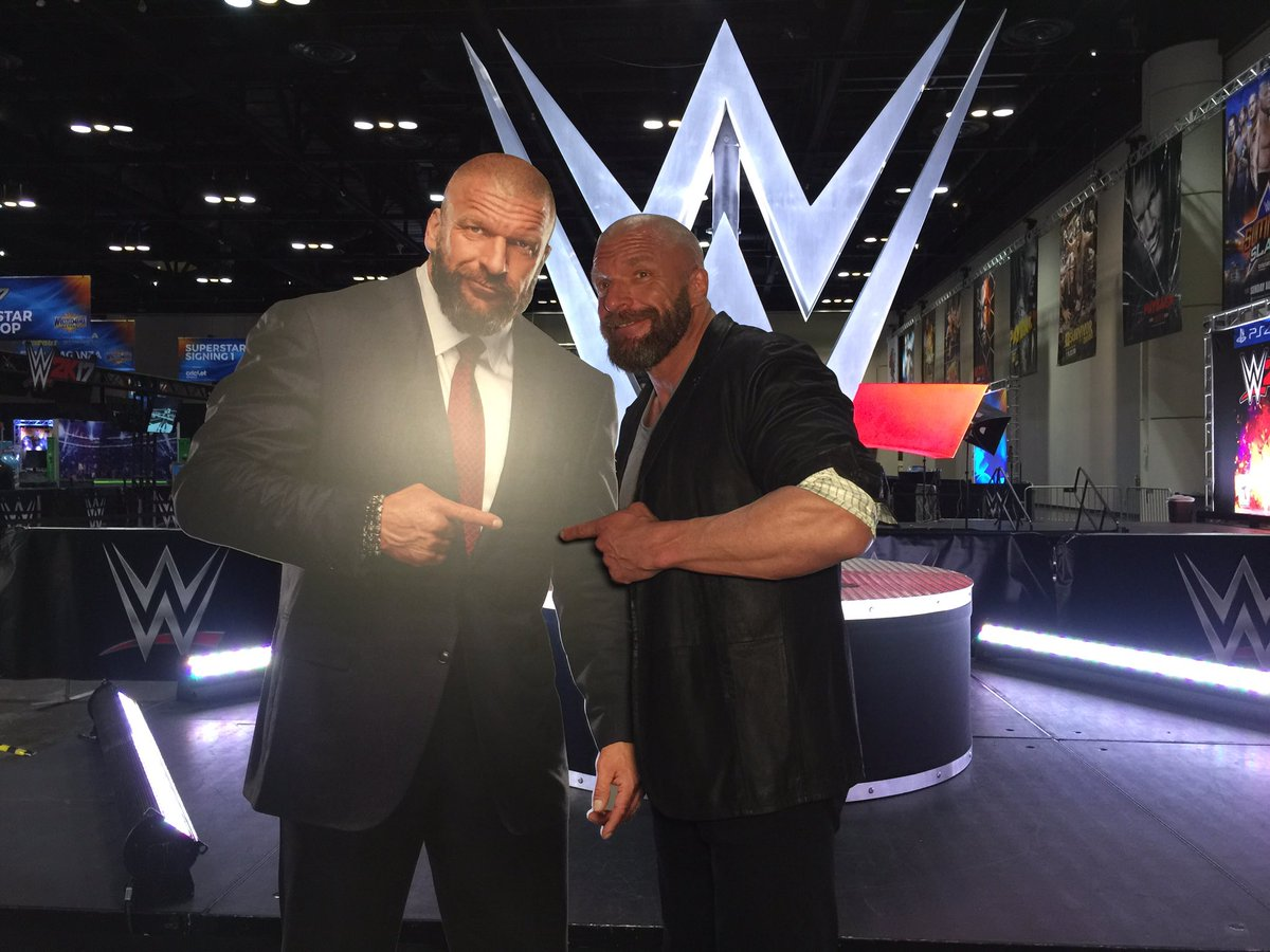 Image result for triple h axxess