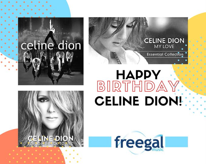 FreegalMusic: Happy Birthday Celine Dion! Celebrate her day by listening to her music here: