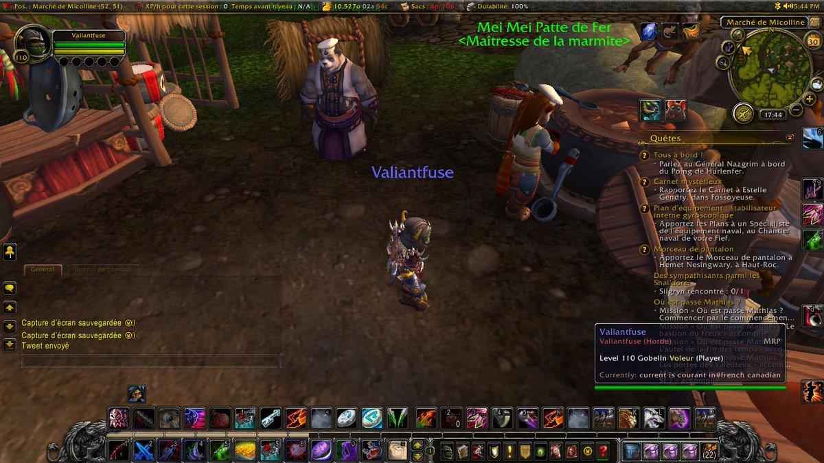 Regardez ma capture d'écran de World of #Warcraft! <br>http://pic.twitter.com/W7Ak4DZqYR