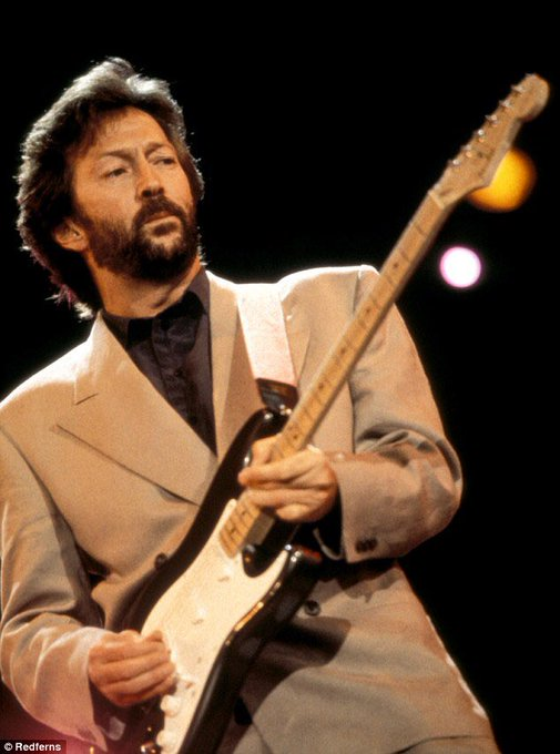Happy Birthday to the Stratmaster himself, Eric Clapton