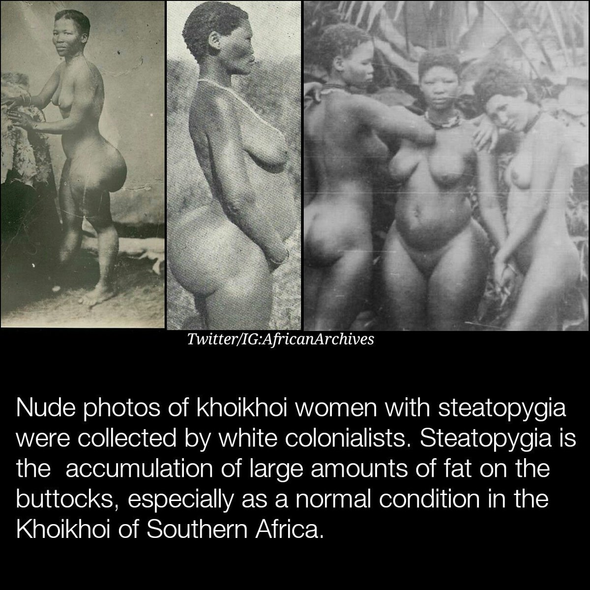 The nude south african white women