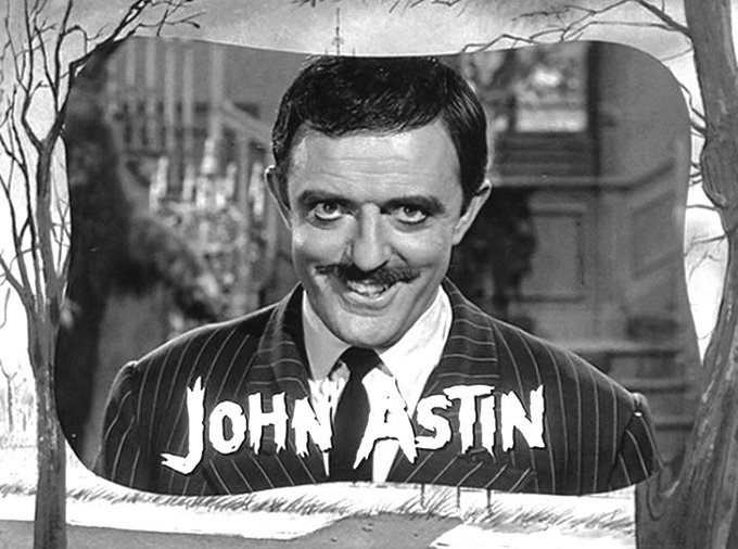 Happy 87th birthday to John Astin, best known as in