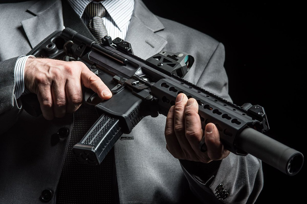 sig sauer on twitter sigmpx sbr 4 5 with romeo3 reflex sight and