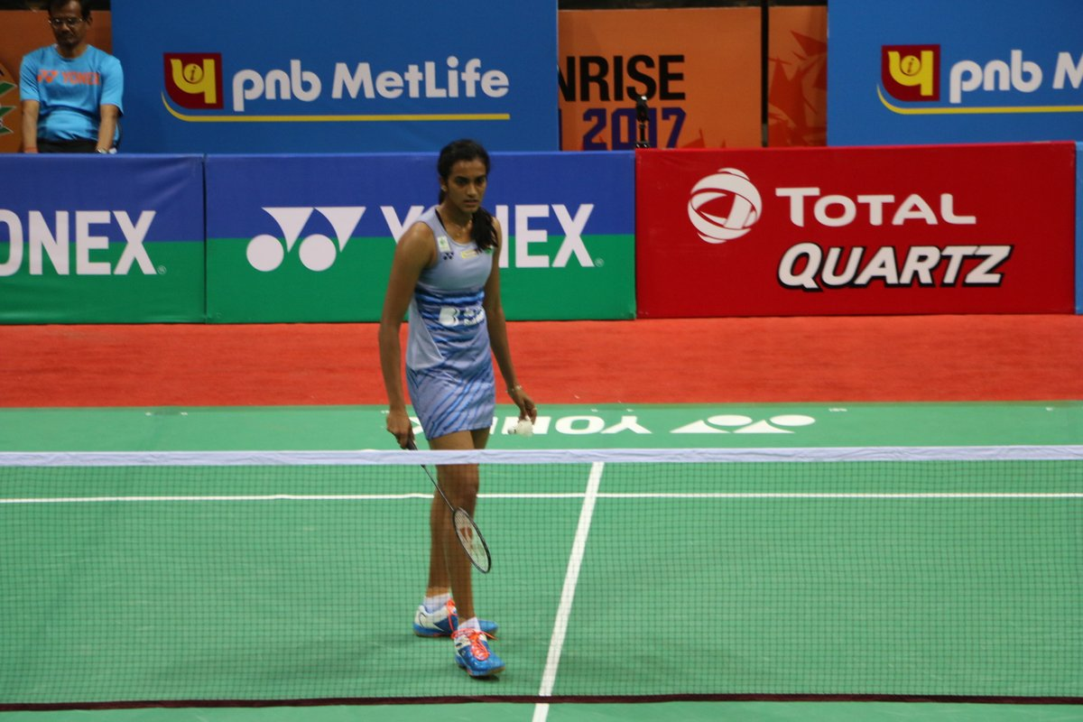 """Sports India on Twitter """" Pvsindhu1 move to QF after defeating"""