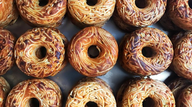Spaghetti donuts are here — and you can get your own starting this weekend. https://t.co/wsorupfPhy