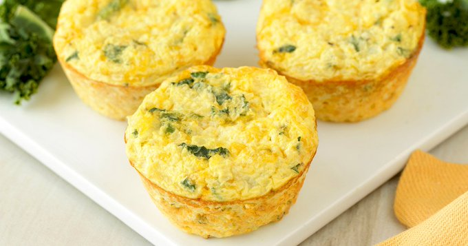 Healthy Muffin-Pan Recipes: Chocolate Chip Pancake Poppers, Kale & Cheddar Egg Bakes