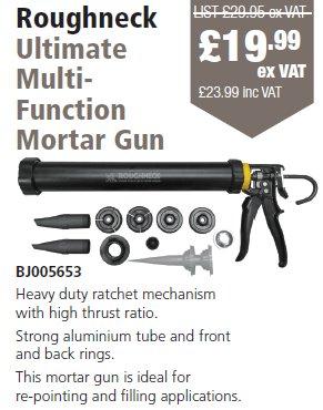 Ultimate Multifunctional Mortar Gun Roughneck 32-150