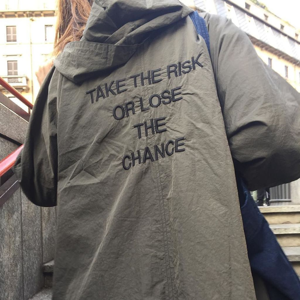 #take the #risk or #lose the #chance #quote #milan #milano<br>http://pic.twitter.com/CCtln6goZG