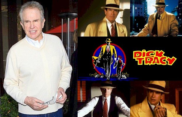 Hoy cumple 80 años Warren Beatty (Dick Tracy en Happy Birthday