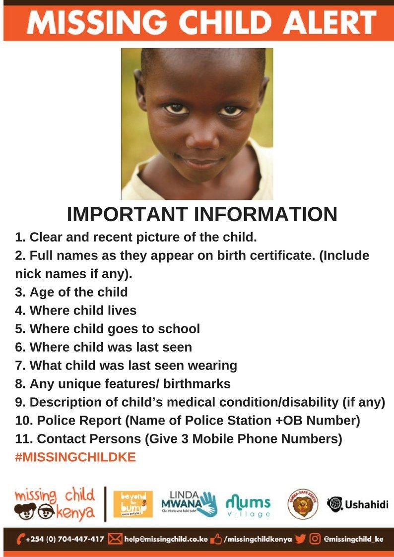 recent missing children - 626×766