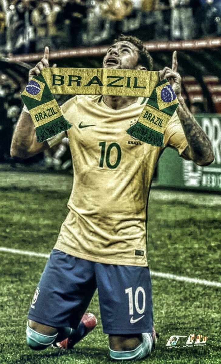 Simple Wallpaper Neymar Jr Brasil