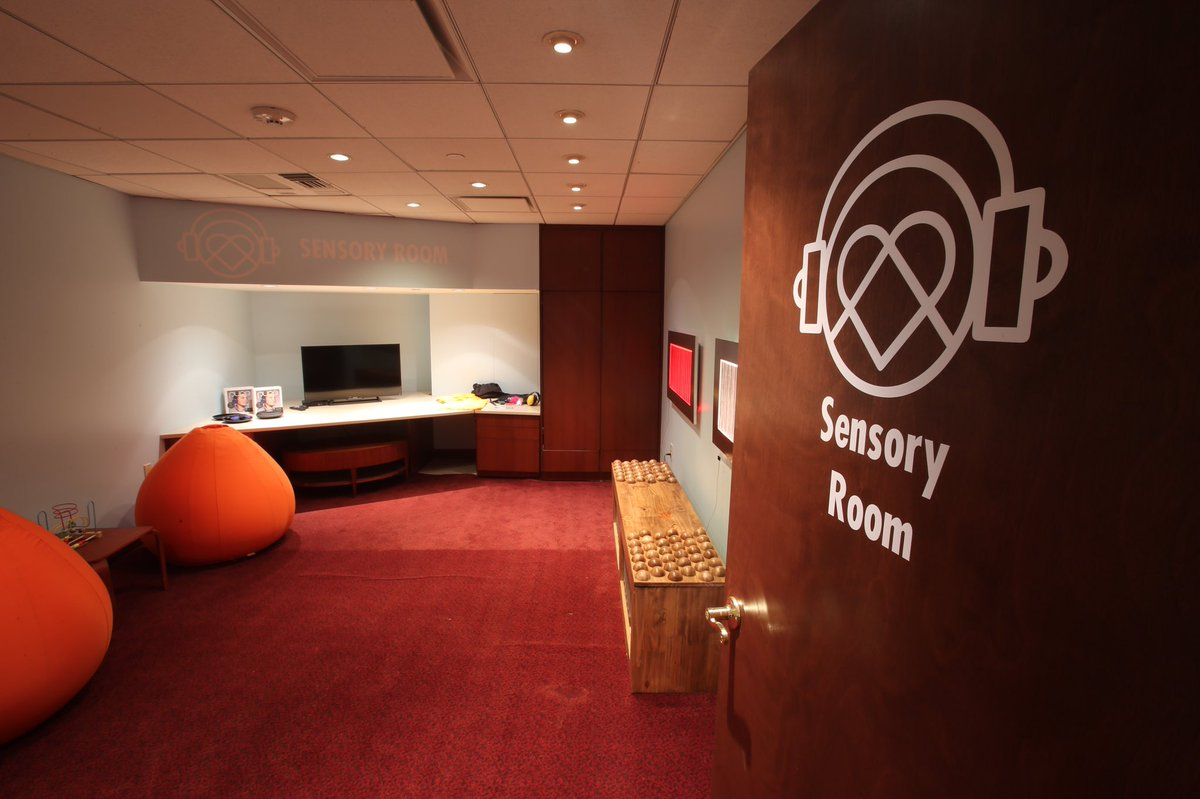 The Q debuts new Sensory Room and is proud to be 1st NBA arena in the  country certified as Sensory Inclusive. READ: http://bit.ly/2olpgCl  pic.twitter.com/ ...