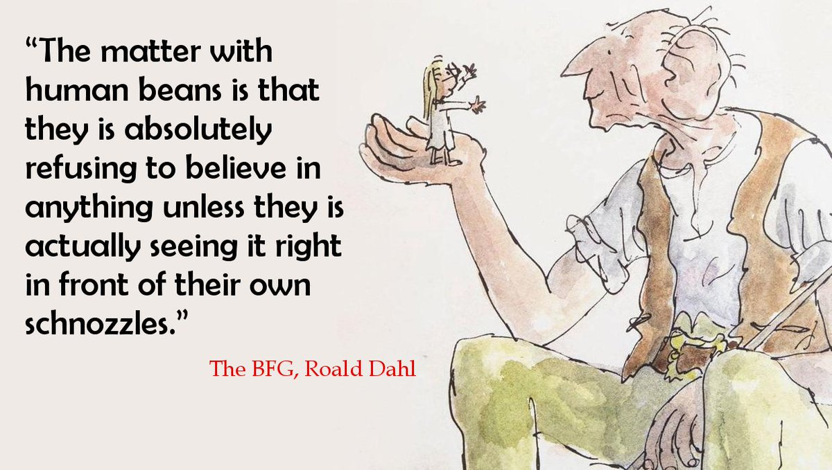 Here's a little BFG quote for you.. For the little Sophie and BFG in all of us. :) #BFG #RoaldDahl #BookQuoteoftheDay #Humanbeans<br>http://pic.twitter.com/xGAZuIBqDf