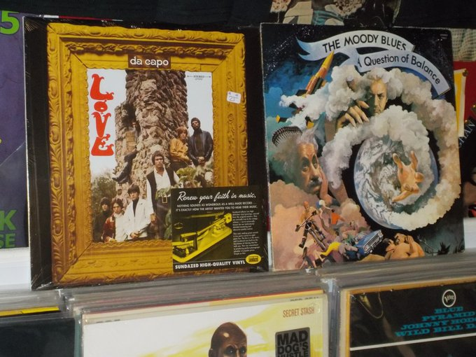 Happy Birthday to the late Ken Forssi of Love & Graeme Edge of the Moody Blues